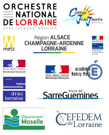 Logos des partenaires du projet Petrouchka Pixel